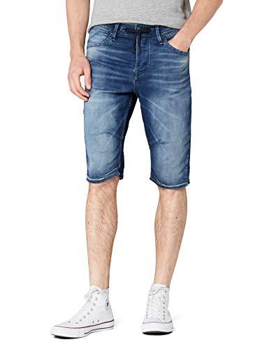 JACK & JONES Jjidash Jjlong Shorts GE 781 I.k. STS Pantalones Cortos, Azul Blue Denim Blue Denim...