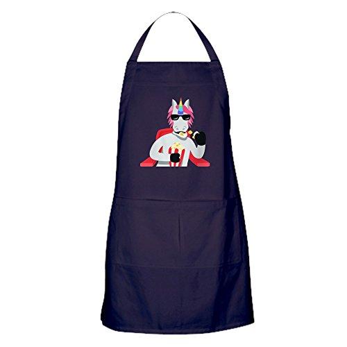 orn Essen Popcorn Küchenschürze mit Taschen ()