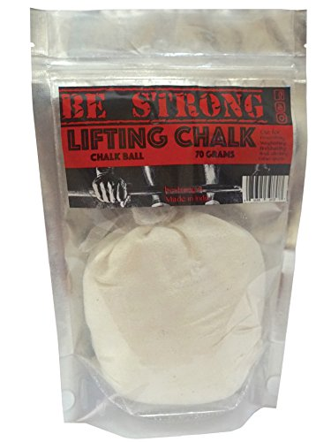 Be Strong Refillable Chalk Ball- 70 Grams For Powerlifting,Weightlifting,Rock Climbing And Other Sports