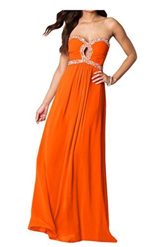 Ivydressing -  Vestito  - linea ad a - Donna Arancione
