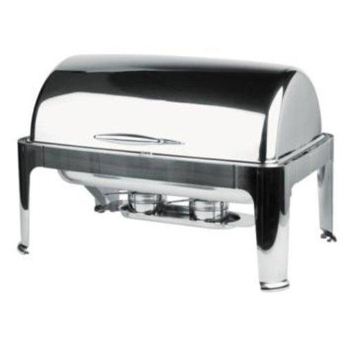 treues M12350Roll Top Chafing Dish, Elite, 9l, 67cm x 47cm 9 Liter Chafing Dish