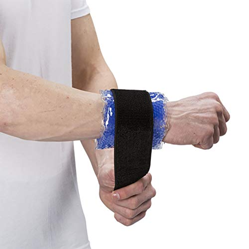 064ac29cb0 TheraPearl Ankle/Wrist Wrap, Reusable Hot & Cold Therapy Pack with Gel  Beads,