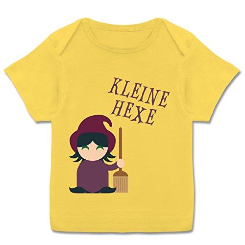 Kostüm Mops Babys - Halloween Baby - Kleine Hexe süß - 68-74 (9 Monate) - Gelb - E110B - Kurzarm Baby-Shirt für Jungen und Mädchen