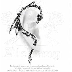 Alquimia de Inglaterra E273 Reina de la Noche Par de Pendientes