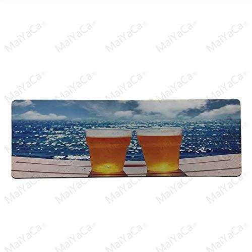 Sommer Bier komfortable Mauspad Spiel Mauspad Größe ist 30 x 60 cm Spiel Mauspad (Sommer-bier)