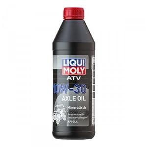 HUILE DE BOITE 1 LITRE 10W30 ATV AXLE OIL LIQUI MOLY-3094 pas cher