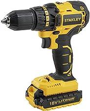 Stanley Cordless Brushless Drill Driver, 18 V, SBD20S2K-B5, Yellow