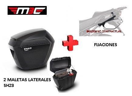 Kit Shad fijacion 3P + Maletas Laterales SH23 Honda