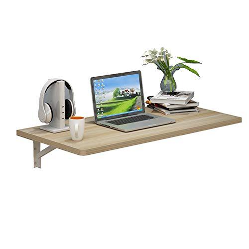 Klapptisch ZM Laptop Stand Home Klappbarer Multifunktionaler Wand-Schreibtisch Tisch Mehrere Farben Und Größen (Farbe : C, größe : 90x40cm)