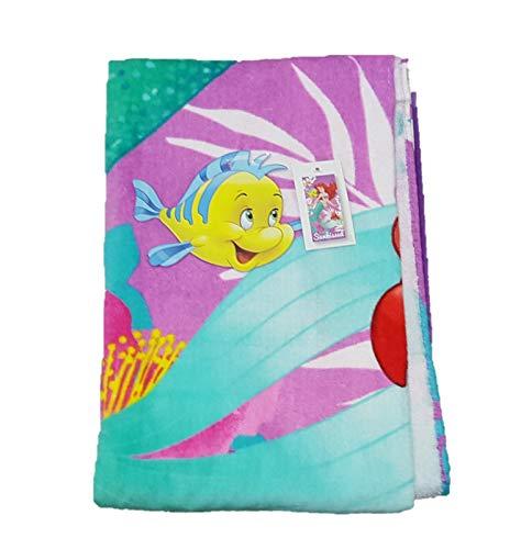 Licensed_Primark Strandtuch Ariel die kleine Meerjungfrau, Sebastion und Flunder