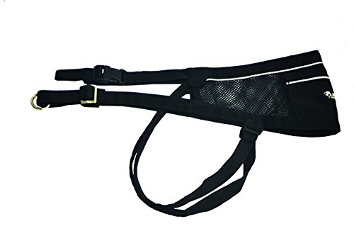 Preisvergleich Produktbild Neewa 8033087538700 – Lochkoppel-CANICROSS schwarz Einheitsgröße