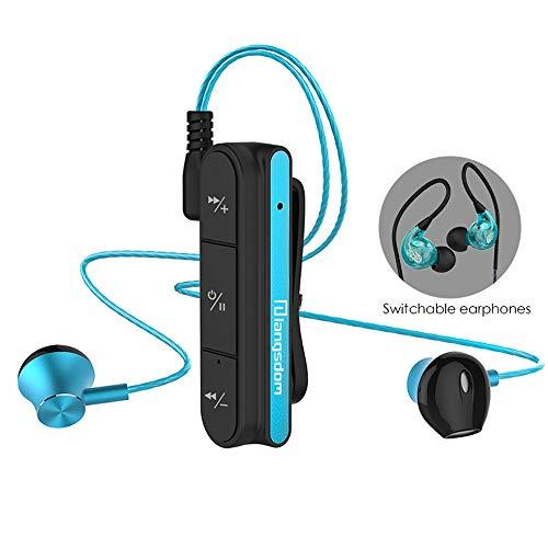 AOEIUV BX10 Auricular Bluetooth para teléfono Auriculares inalámbricos con micrófono Bajo Auricular...