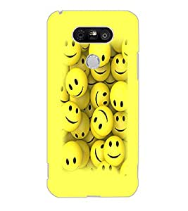 LG G5 SMILEYS Back Cover by PRINTSWAG