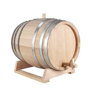 Tonnelet 5L chêne (petite barrique,petit fût bois)