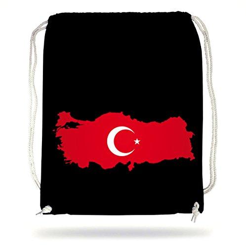 Certified Freak Türkei Gymsack Black -