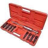 Extracteur de solvant de roulement intérieur for trou borgne - Ensemble de 9 outils...