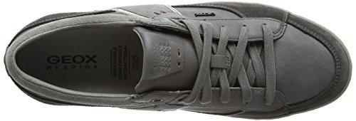 GeoxU Box C - Scarpe da Ginnastica Basse Uomo Grigio (Grey (Mud/Grey)) Ubicaciones De Los Centros Aberdeen De Descuento Nuevos Llegada mJXDYc6k