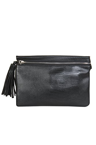 Snakeskin Designer Black Sling Bags By Mirroni