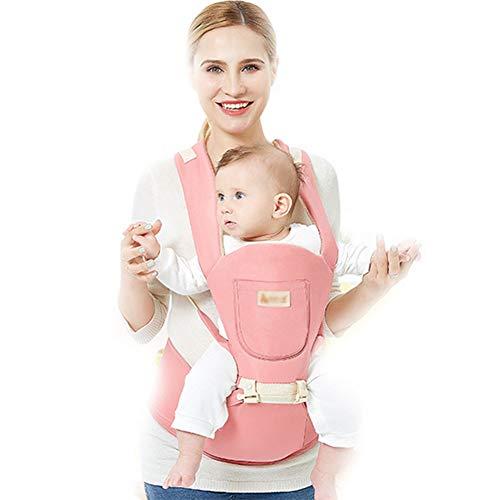 Babytrage, Multifunktional Kindertrage Weich Winddicht Vier Jahreszeiten Zur Verfügung,Hüfte Sitz Schultern Verstellbares, Geeignet Für Reisen(Geeignet Für 0~36 Monate)