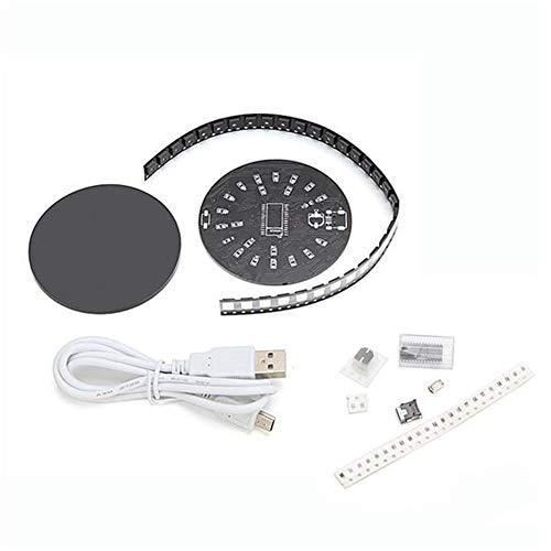 Lin Feng Xin Mu Cai Starter Kit LED Kristall Energie Ring Modul Kit DIY WS2812 Vollfarben RGB