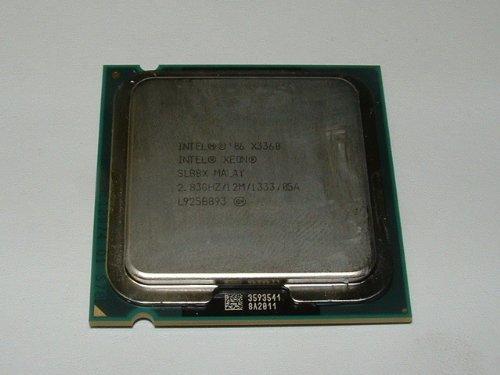 Intel Xeon X3360 Quad Core Tray CPU SLB8X 2.83GHz 12MB 1333MHz Sockel 775 - Sockel Intel 775 Quad-core