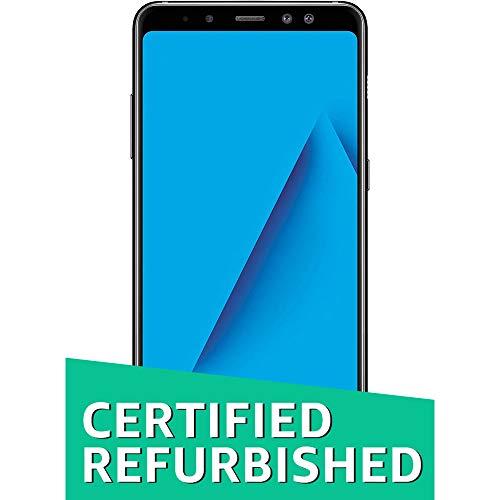 (CERTIFIED REFURBISHED) Samsung Galaxy A8+ (Black, 6GB RAM + 64GB Memory)