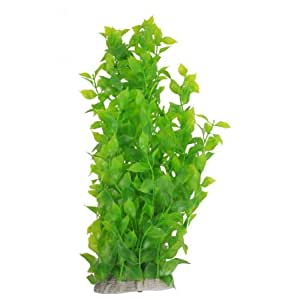 Sodial r 40cm vert herbe plante aquatique artificielle en for Amazon plante artificielle