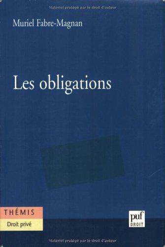 Les obligations par Muriel Fabre-Magnan