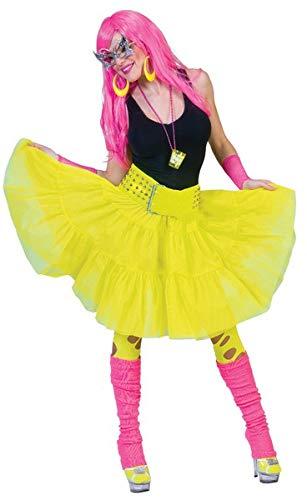 Funny Fashion 508136E - Tüllrock gelb, one -