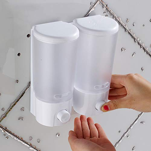 Precision Clean Refills (RLJJCS Seifenspender Wandmontage Hotel Handwaschmittel Weiße Flasche Galvanik Seifenbehälter 400Ml800ML Händedesinfektionsbox (Color : White, Size : 800ml))
