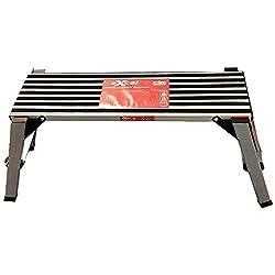 Excel Folding Hop up Bench Decorating Work Step Platform Stage Ladder Aluminum