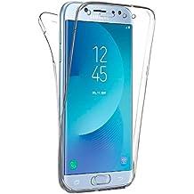 Generica - Funda TPU Doble Frontal Trasera 360 para Samsung Galaxy J5 2017