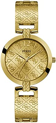 GUESS Womens Quartz Watch, Analog Display and Stainless Steel Strap - W1228L2