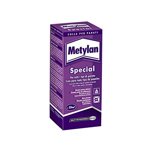 Metylan 11220Wandtattoo in Staub auf Basis von carboxymethylcellulosen, weiß, 200gr