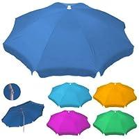 Papillon 8322625 - Sombrilla playa poliéster 180 cm, colores surtidos