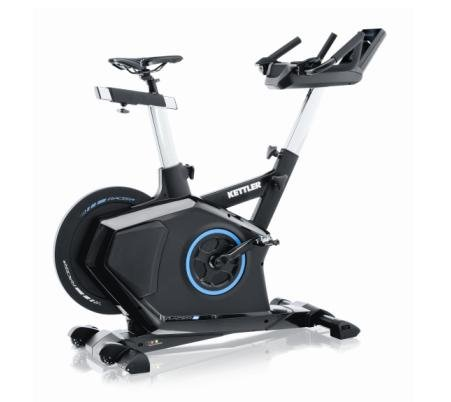 Gym bike ergometro racer s con fascia cardio polar e world tours 2.0 up-grade incluso kettler cod.7988-756
