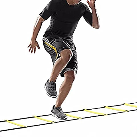 Novatech Agility Ladder Speed Ladder 6M 12-Rung for Football Speed Training