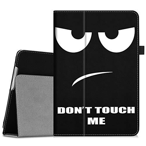 Fintie Hülle Case für Huawei MediaPad M5 Lite 10 - Ultra Schlank Folio Kunstleder Schutzhülle mit Auto Sleep/Wake Funktion für Huawei MediaPad M5 Lite 10 10.1 Zoll 2018 Tablet PC, Dont Touch