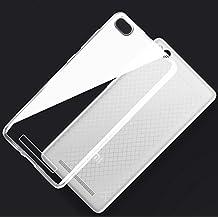 Prevoa ® 丨XIAOMI Redmi 3 Funda - Transparent Silicona TPU Protictive Funda Case Carcasa para XIAOMI Redmi 3 5,0 pulgadas 4100 mAh 4G LTE Smartphone - Transparent