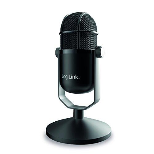HD Mikrofon in Studio-Qualität Schwarz ()