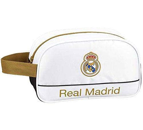 Safta Neceser Adaptable Carro Real Madrid 1ª Equip, con 1 Asa 26X15X12 cm
