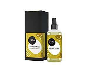 profumatore per ambienti con olii essenziali spray 250ml fragranza Golden Arabia profumo intenso e di lunga durata