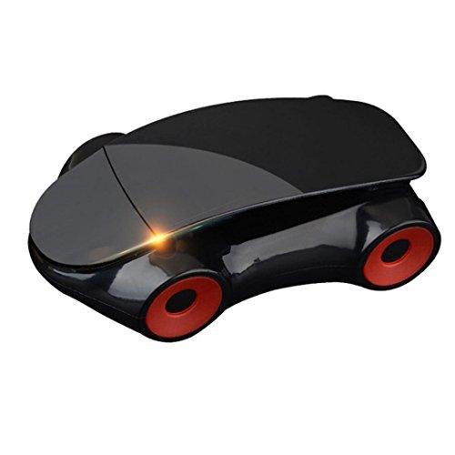 Happy Event Telefonhalter Auto Armaturenbrett Verstellbare Rotary Navigation Sportwagen Modelle (Schwarz)