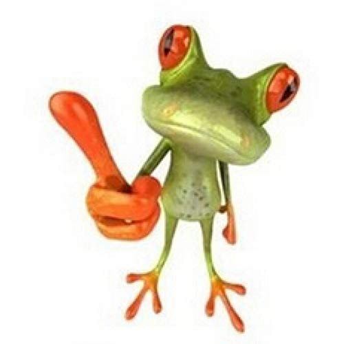 WSKRZS 1 STÜCKE Lustige House Lizard 3D Auto Stereo Gefühl Auto Aufkleber Auto Frosch Wandaufkleber Cartoon Tier Toilette dekorative Aufkleber für -