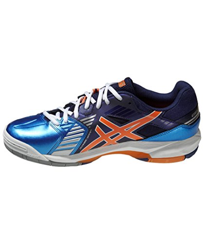 ASICS GEL SENSEI Chaussure Sport En Salle Blanc (Diva Blue/White/Orange)