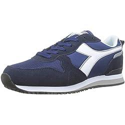 Diadora Olympia, Zapatillas para Hombre, Azul (BLU Estate 60024), 45.5 EU