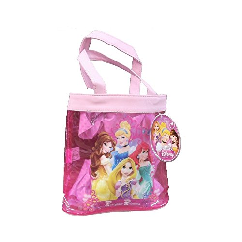 disney-princess-pink-shopper-tote-bag-featuring-belle-cinderella-ariel-and-rapunzel