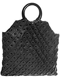 Stylogy Women's Tote Bag (Black) (bag-lto05-00001)