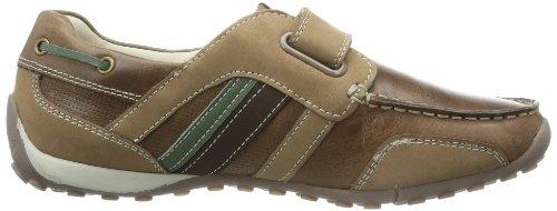 SNAKE MOC Geox Jungen C0702 E J Braun Sneaker GREEN J3216E04332C0702 BROWN 544wP