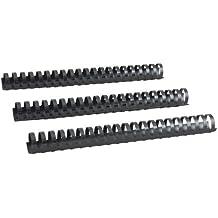 50 Blatt DIN A4 8,0 mm 100 RENZ Plastikbinder/ücken wei/ß